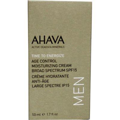 Ahava Men age control moisterizer SPF 15