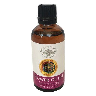 Green Tree Massage olie flower of life
