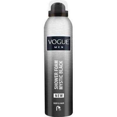 Vogue Men mystic black shower foam