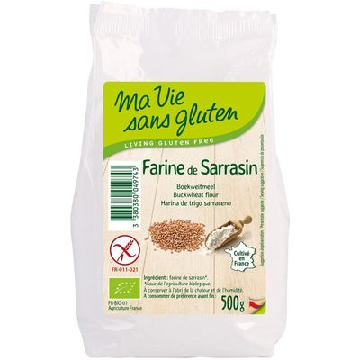 Ma Vie Sans Boekweitmeel bio - glutenvrij
