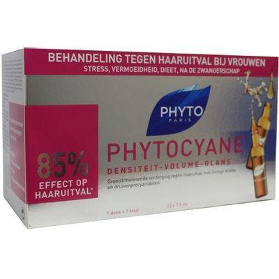 Phyto Paris Phytocyane haaruitval behandeling