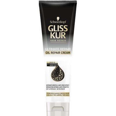 Schwarzkopf Gliss Kur Haarmasker ultimate repair oil cream