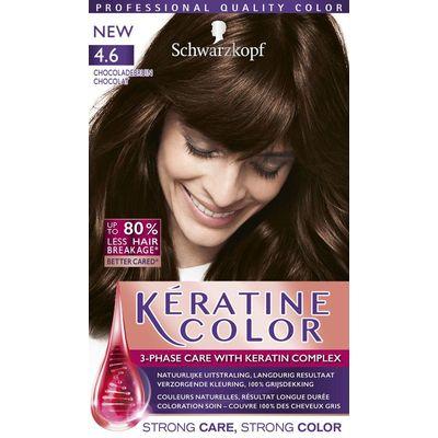 Schwarzkopf Keratine Color Haarverf 4.6 Chocoladebruin
