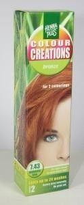 Henna Plus Colour creations 7.43 bronze