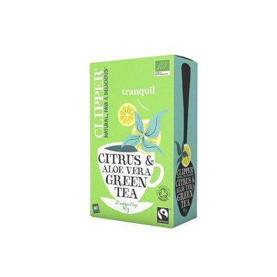 Clipper groene thee aloe vera