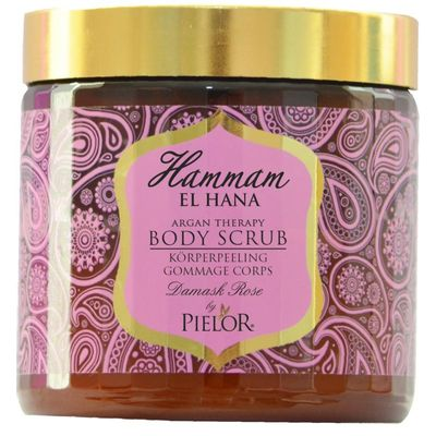 Hammam El Hana Argan therapy Damask rose body scrub