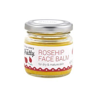 Zoya Goes Pretty Face balm rosehip glazen potje