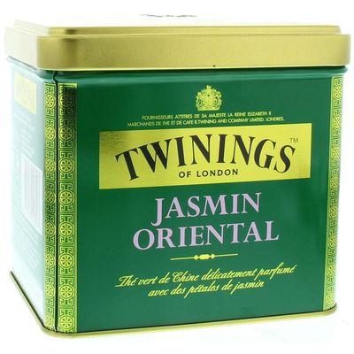 Twinings Jasmine green tea blik