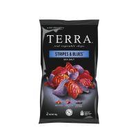 Terra Chips Stripes blues groenten
