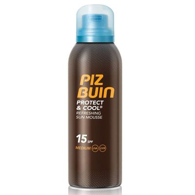 Piz Buin Protect & cool mousse SPF15