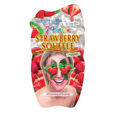 Montagne 7th Heaven gezichtsmasker strawberry souffle