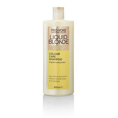 Provoke Shampoo liquid blonde colour care