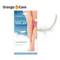 Orange Planet Wax strips body