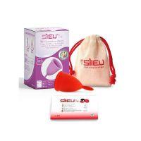 Sileu Menstruatiecup classic rood- S