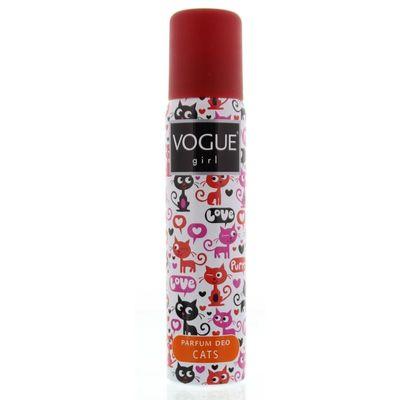 Vogue Deodorant spray girl cats