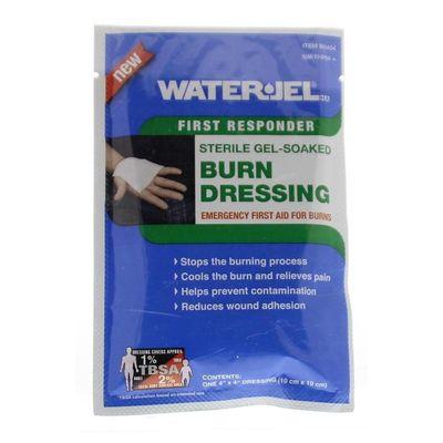 Waterjel 10 x 10 kompres steriel gel gedrenkt