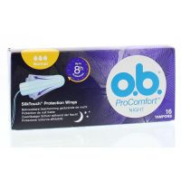 OB Tampons pro comfort night normaal / flexia l