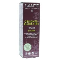 Sante Homme I Gezichtsfluid 2-in-1 bio-aloë & witte the