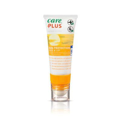 Care Plus Sun protection face & lip 50+