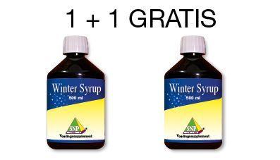 SNP Winter siroop aktie 2x 500ml