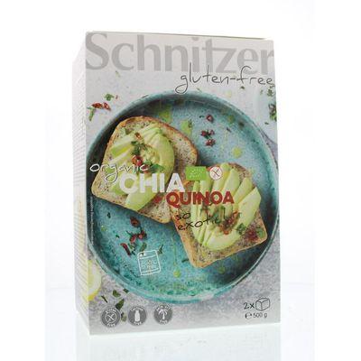 Schnitzer Brood chia & quinoa