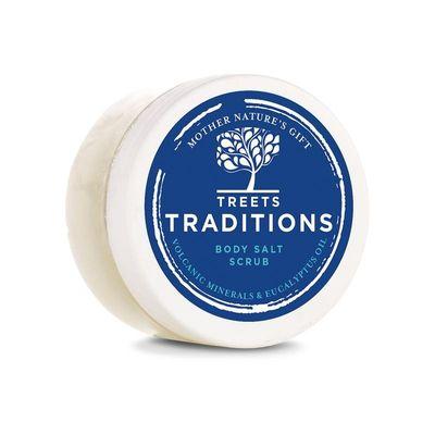 Treets Revitalising ceremonies salt scrub mini