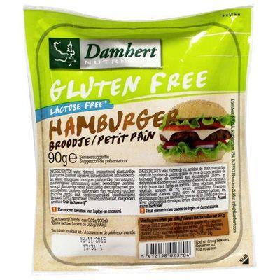 Damhert Hamburgerbrood glutenvrij