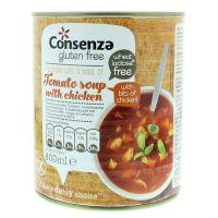 Consenza Tomatensoep met stukjes kip