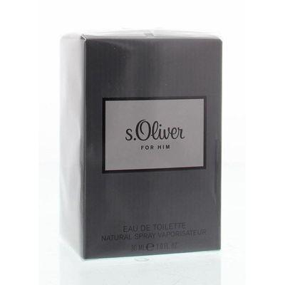 S Oliver For him eau de toilette spray