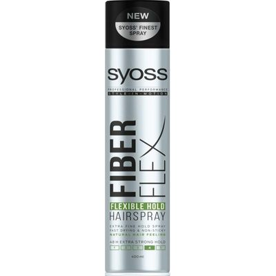 Syoss Fiber Flex Flexibele Hold 4 extra strong haarspray