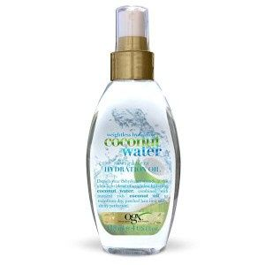 OGX Weightless hydration coconut water oil