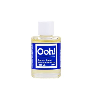 Ooh! Organic argan moisture retention face oil