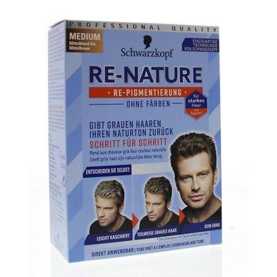 Schwarzkopf Re-nature creme man medium