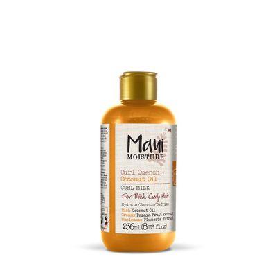 Maui Curl quench coconut oil curl milk