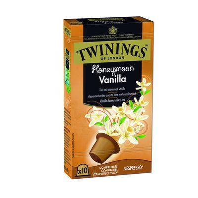 Twinings Honeymoon vanille capsules