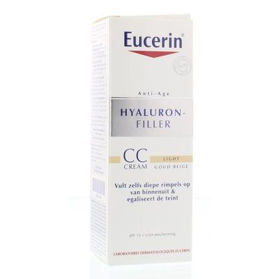 Eucerin Hyaluron filler dagcreme CC cream light