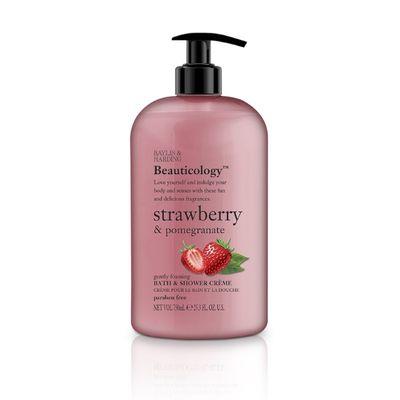 Baylis & Harding Beauticology bath & shower creme strawberry