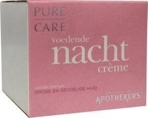 SAN Pure care nachtcreme droge - gevoelige huid