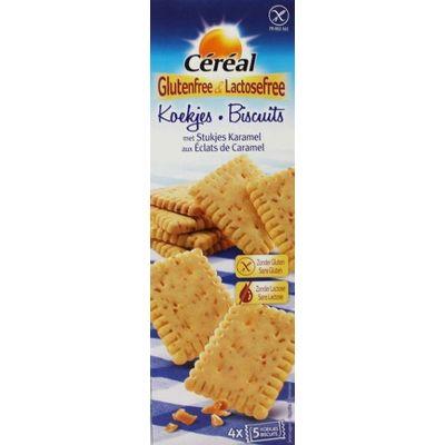 Cereal Koek met caramel glutenvrij