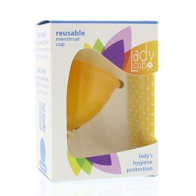 Ladycup Menstruatie cup sunflower maat S