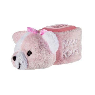 Alphanova Baby Baby bobo pink bear cooling