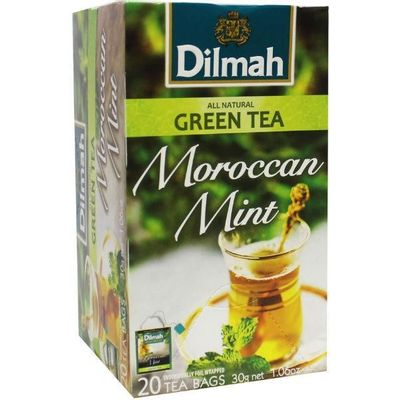 Dilmah All natural green tea Moroccan mint