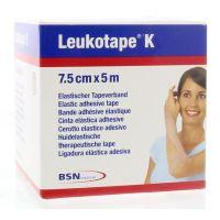 Leukotape K 5 m x 7.5 cm huidkleur