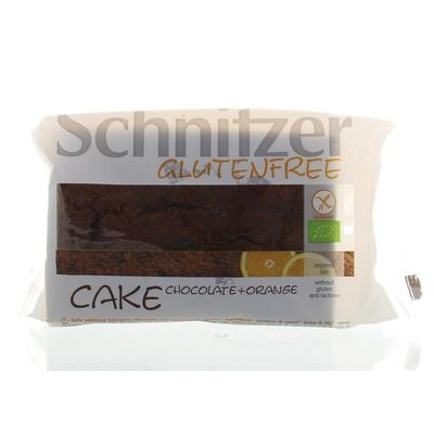 Schnitzer Cake chocola & sinaasappel