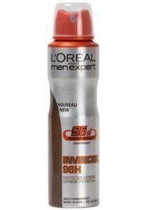 Loreal Men expert deodorant spray invincible