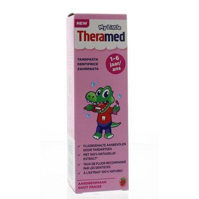 Theramed Junior aardbei 3+ tandpasta tube