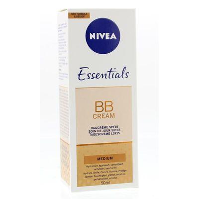 Nivea Essentials BB cream medium SPF10