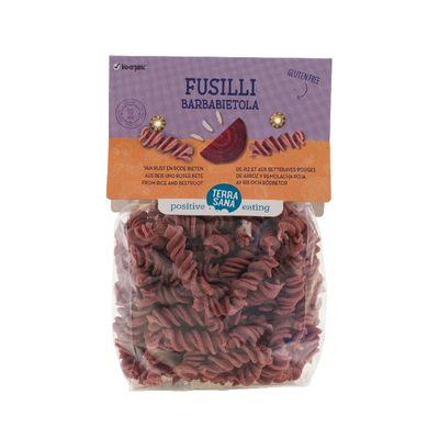Terrasana Fusilli barbabietola rijst met rode biet
