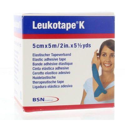 Leukotape K 5 m x 5.0 cm blauw