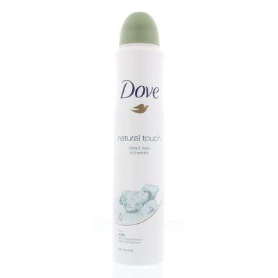 Dove Deodorant spray natural touch actie